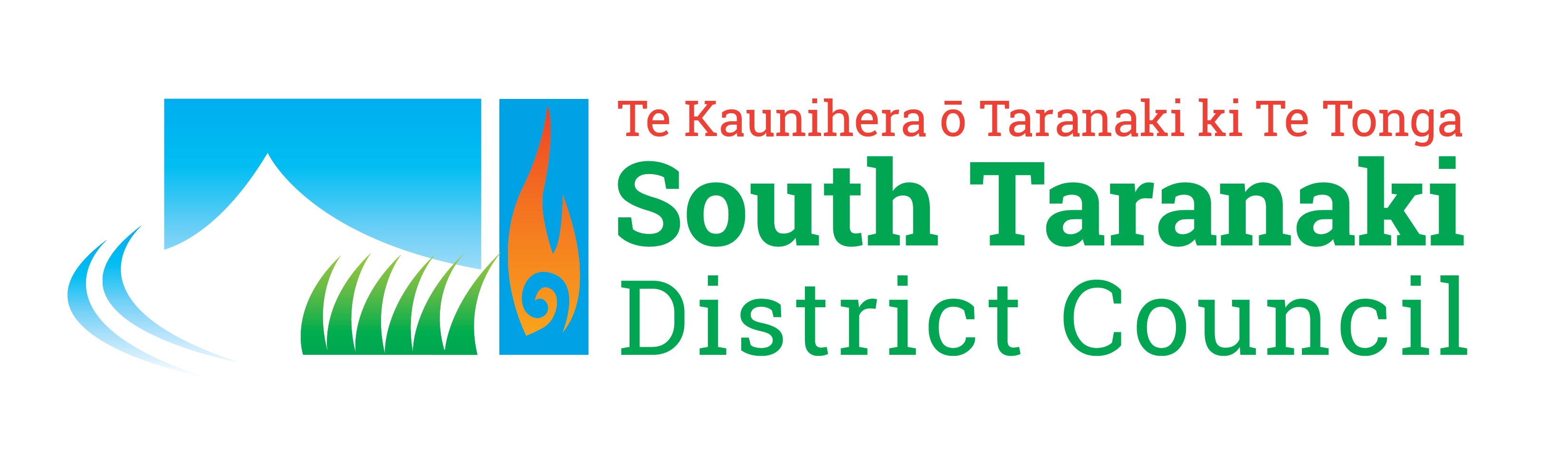 Real Energy South Taranaki Disctrict Logo